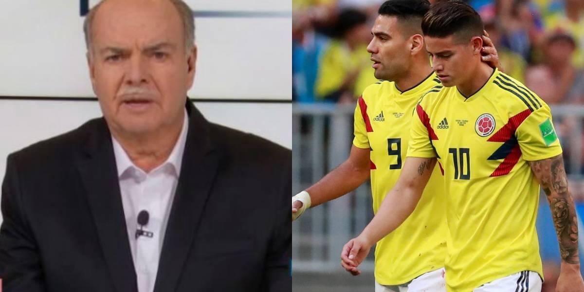 Iván Mejía arremetió contra el médico de la Selección Colombia por mal manejo de la lesión de James