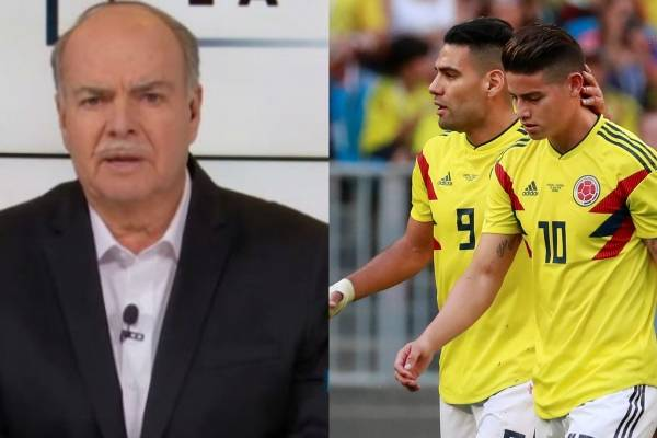 Iván Mejía arremetió contra el médico de la Selección Colombia