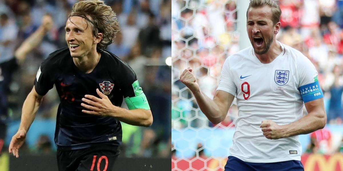¡Semifinal inédita! ¿Inglaterra y Croacia, finalista inesperado?