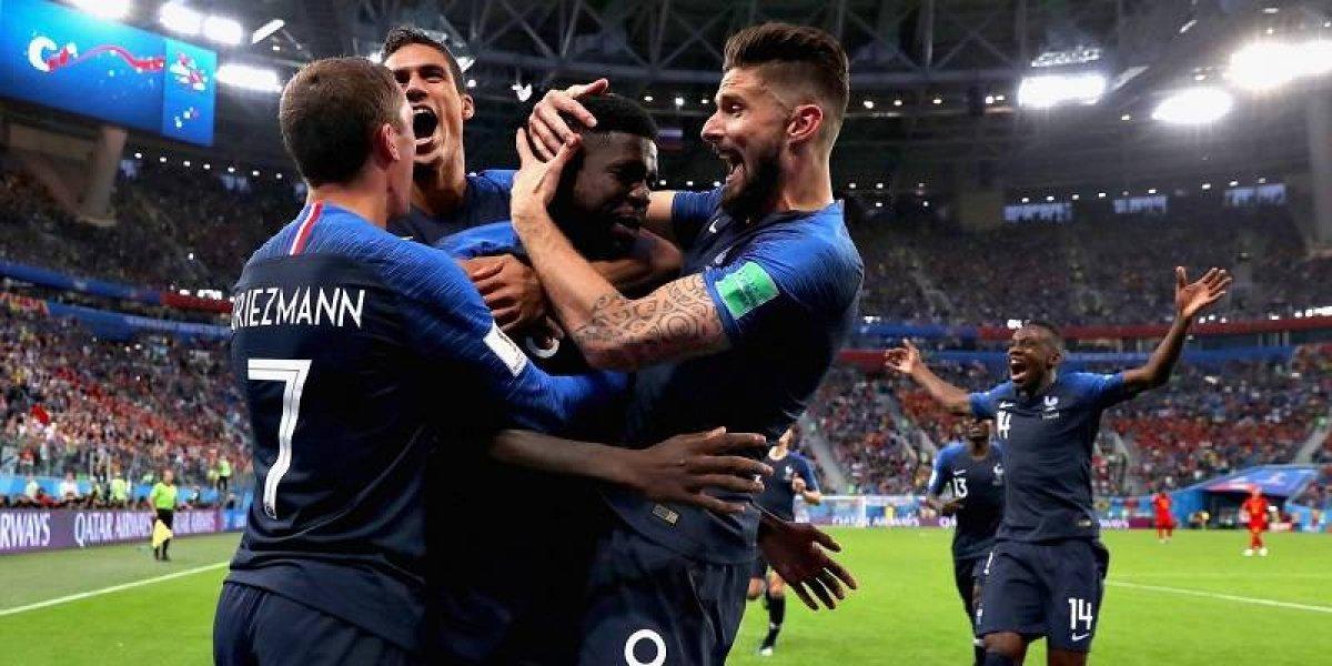 Francia, el primer finalista