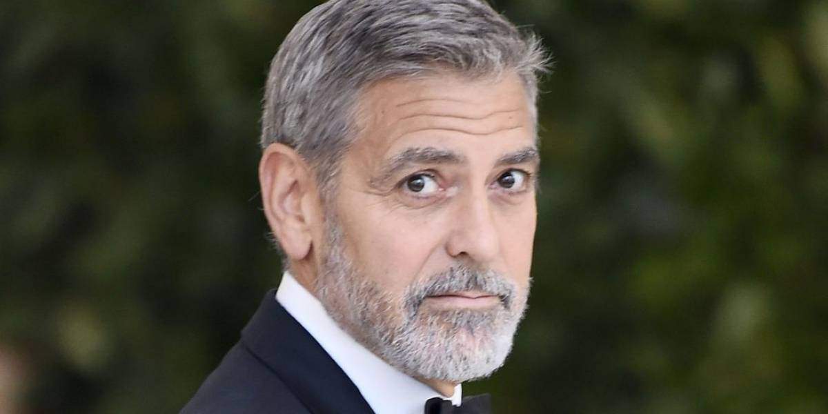 Hospitalizan al actor George Clooney tras sufrir accidente en Italia