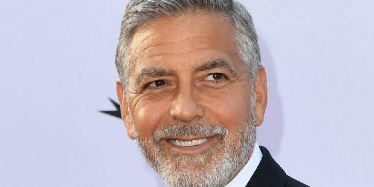 VIDEO. George Clooney herido levemente en accidente de tráfico en Italia