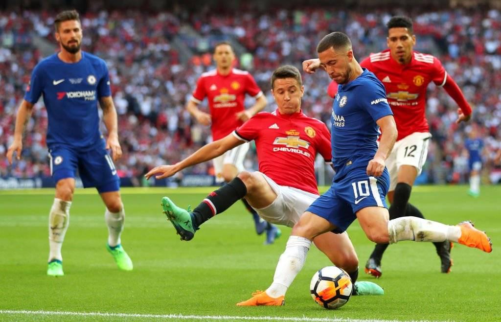 Eden Hazard (Bélgica). Tiene 27 años, milita en el Chelsea / Foto: Getty Images