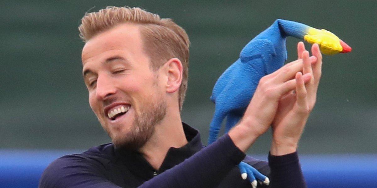 Gallinas de goma volando por el aire: El curioso entrenamiento de Inglaterra para la semifinal de Rusia 2018