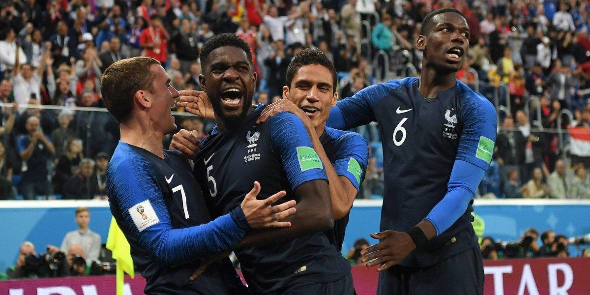 Francia derrota a Bélgica y es el primer finalista en Rusia 2018