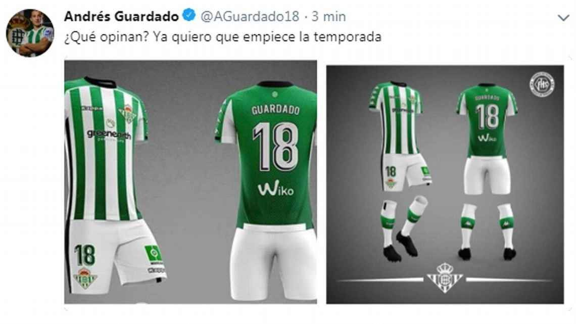 Real Betis uniforme