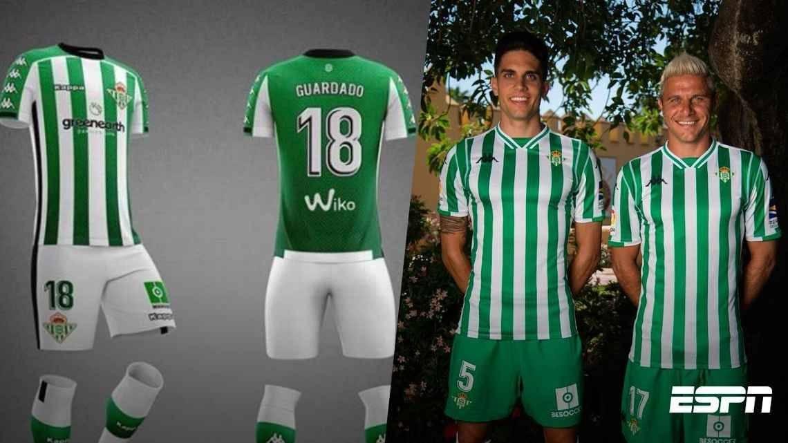 Nuevo traje del Real Betis