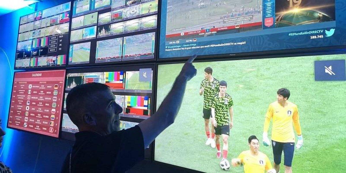 El lugar donde las transmisiones del Mundial se hacen realidad