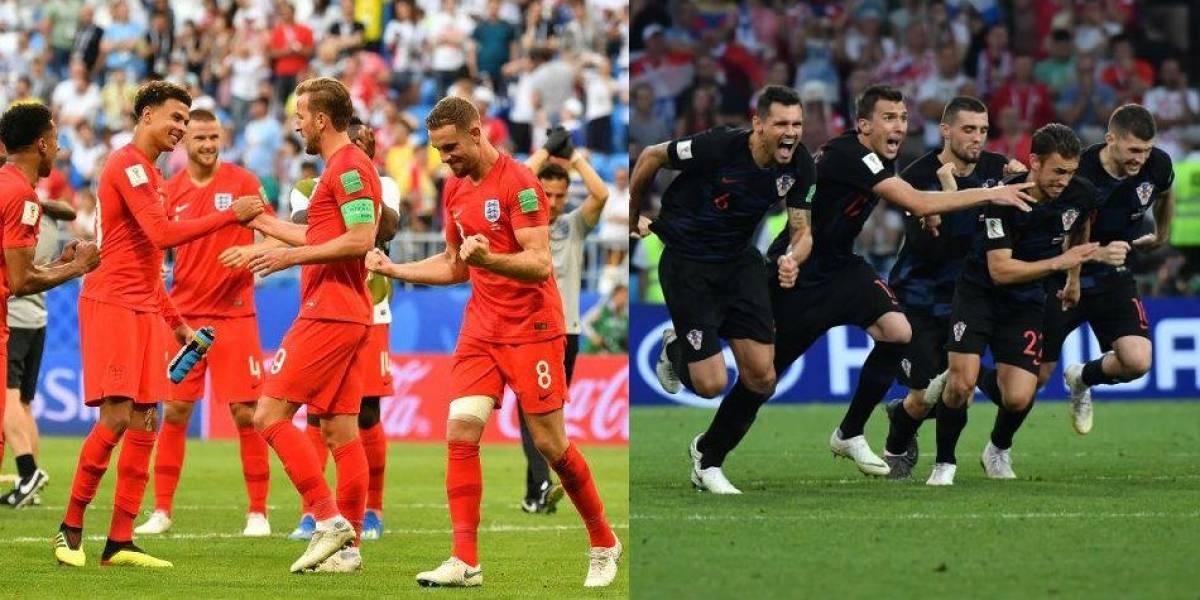 Hoy, 2pm: Inglaterra y Croacia en busca del otro lugar en la final