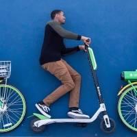Uber invierte en Lime para rentar scooters y bicicletas. Noticias en tiempo real