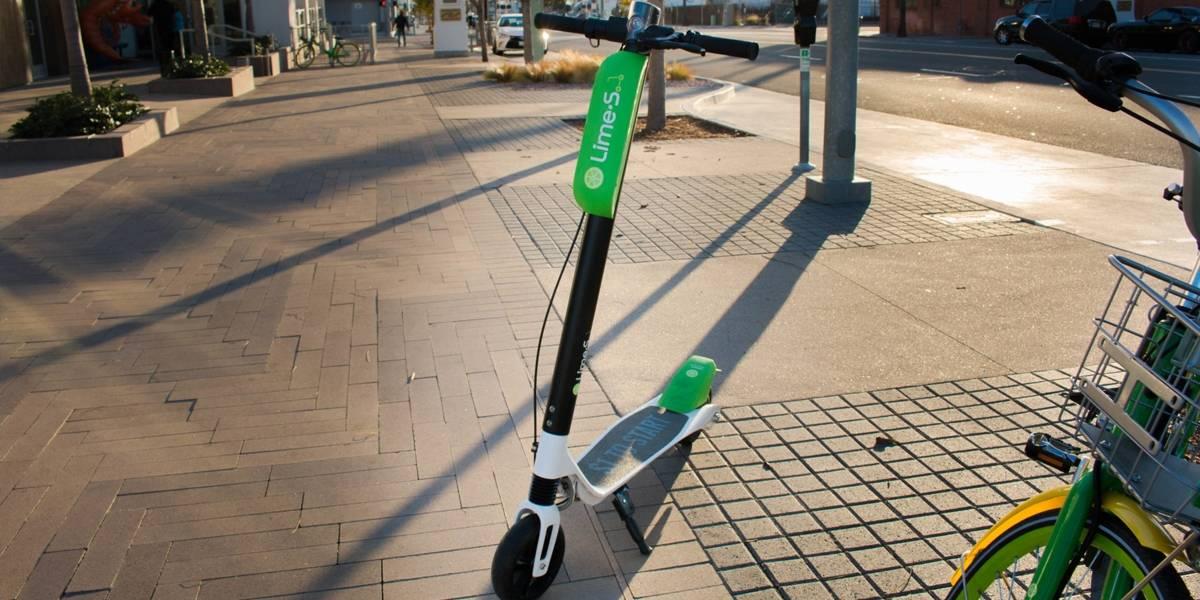 Este será el mapa de uso de los scooters Lime en Chile