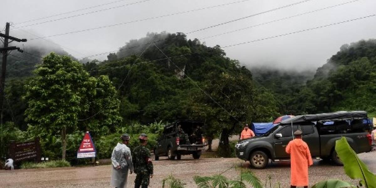Rescatadas las 13 personas atrapadas en una cueva en Tailandia