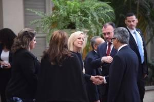 reunión de cancilleres del Tricamex con Kirstjen Nielsen, Secretaria de Seguridad Nacional de los Estados Unidos