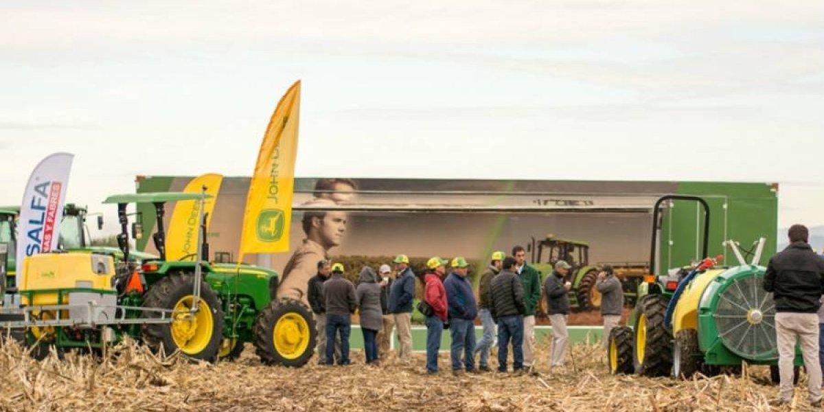 Salfa y John Deere capacitan en agricultura de precisión