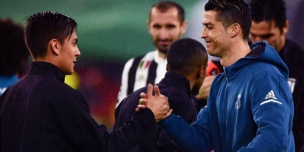Paulo Dybala da bienvenida a Cristiano Ronaldo