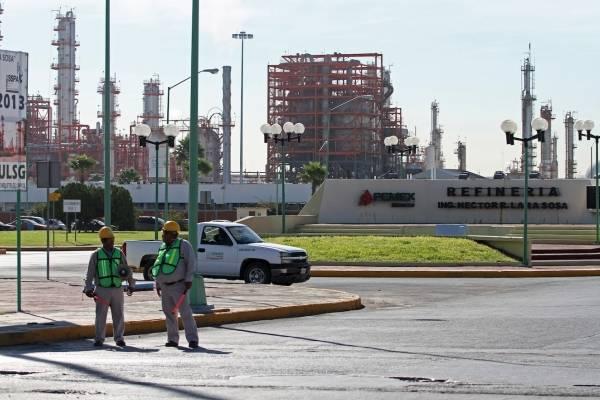 refinería Pemex