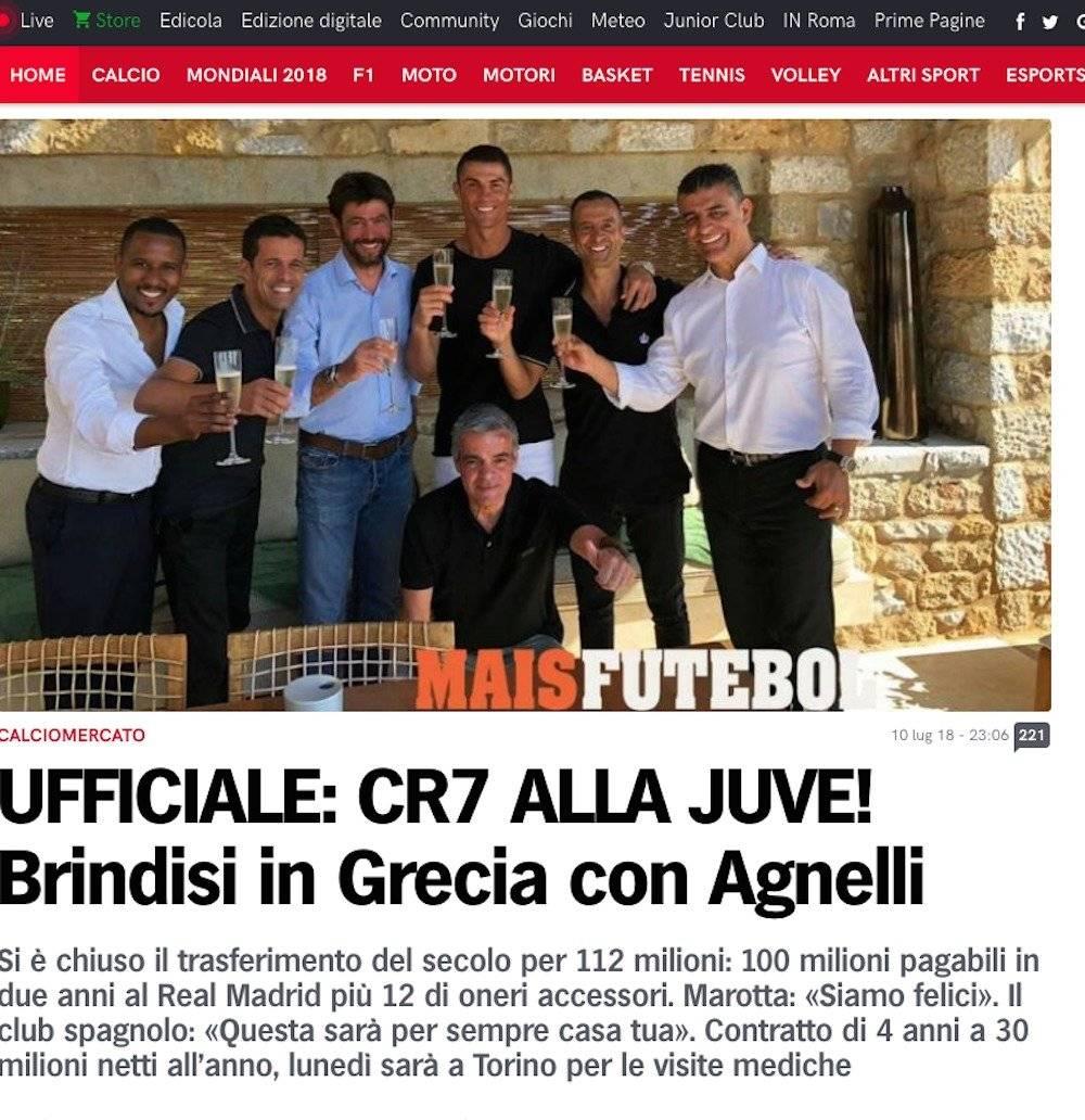 Corriere dello Sport, Italia