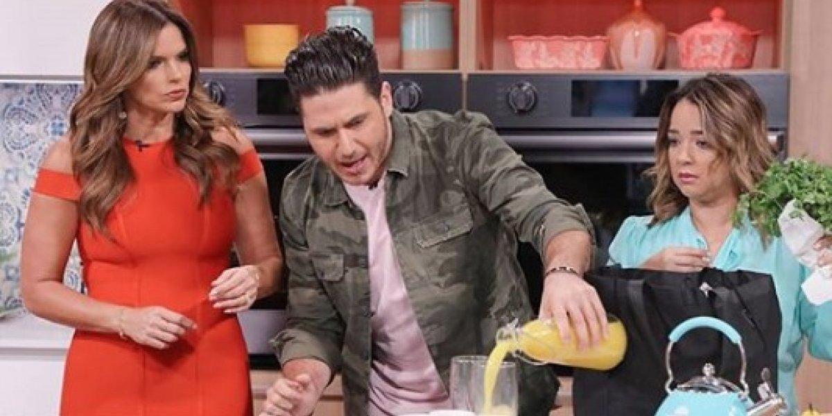 Reaparece en redes el chef James tras sanción de Telemundo
