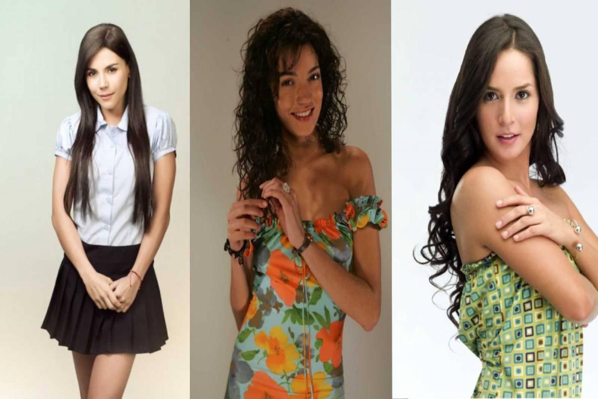 Actrices Colombianas Tetonas ellas son las 4 actrices que encarnaron a catalina en sin