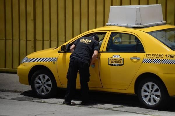 Taxista baleado en zona 13