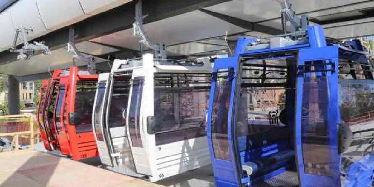Lluvias mantienen suspendido servicio Teleférico Santo Domingo