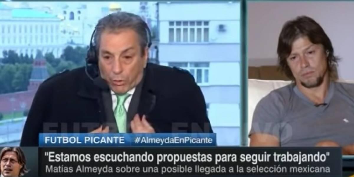 VIDEO: Tomás Boy se niega a platicar en vivo con Matías Almeyda