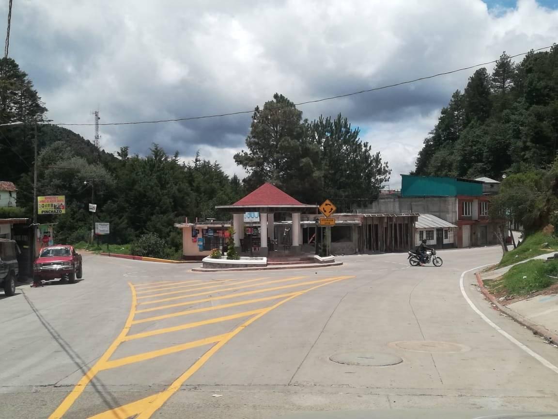 tramo carretero inaugurado en San Marcos