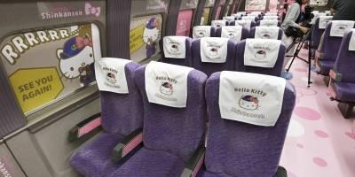 Trem Hello Kitty Japão