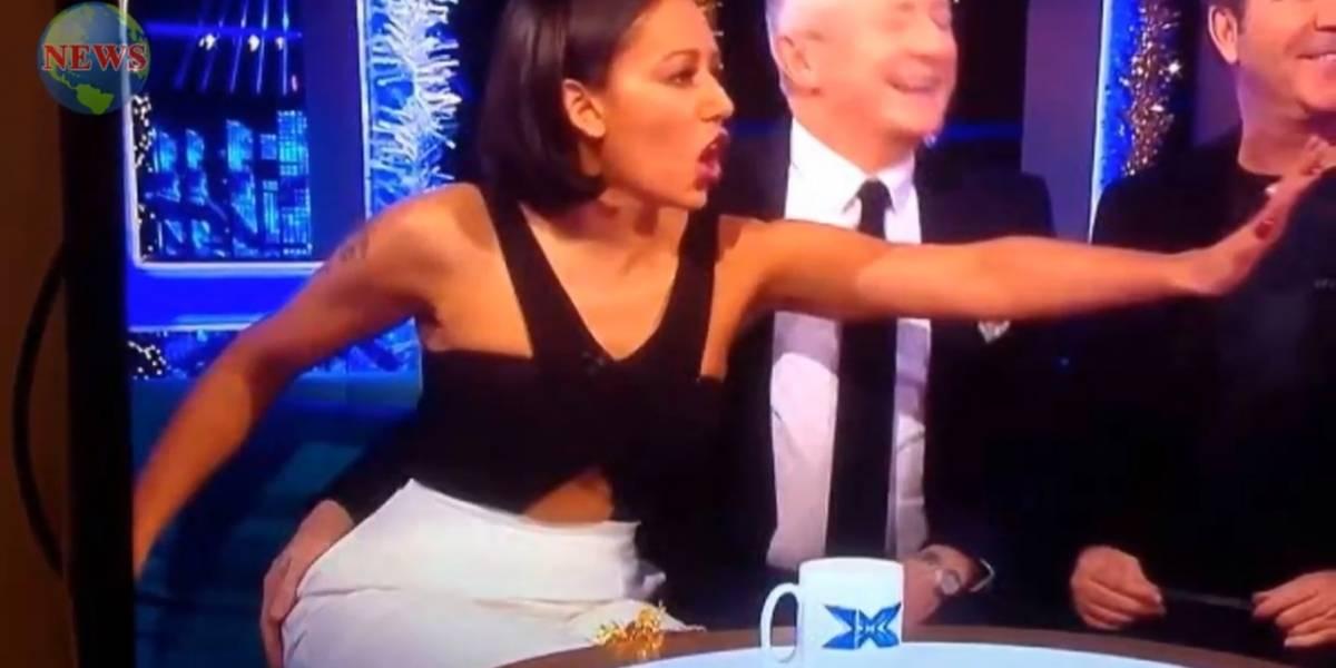 VÍDEO: Ex-Spice Girls Mel B é assediada em programa de TV