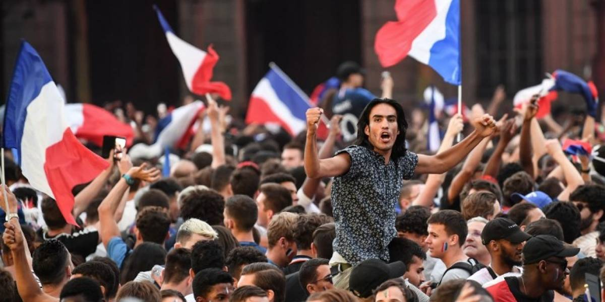París celebra clasificación de Francia a la final de Rusia 2018