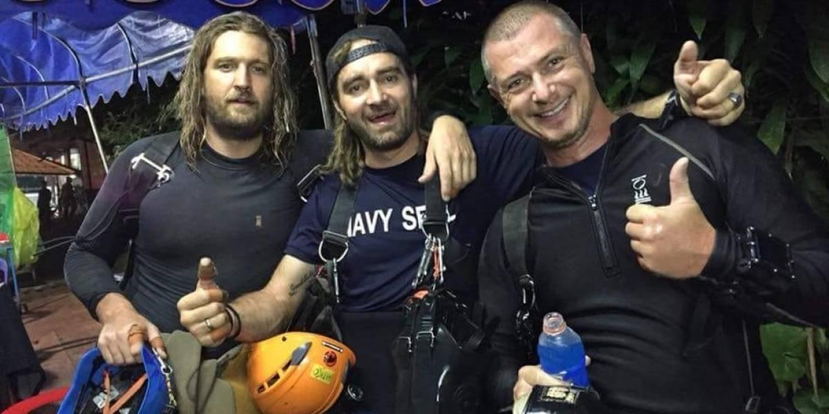 """""""¡Hooyah!"""": quiénes son y qué se sabe de los rescatistas que hicieron posible la hazaña en la cueva de Tailandia"""