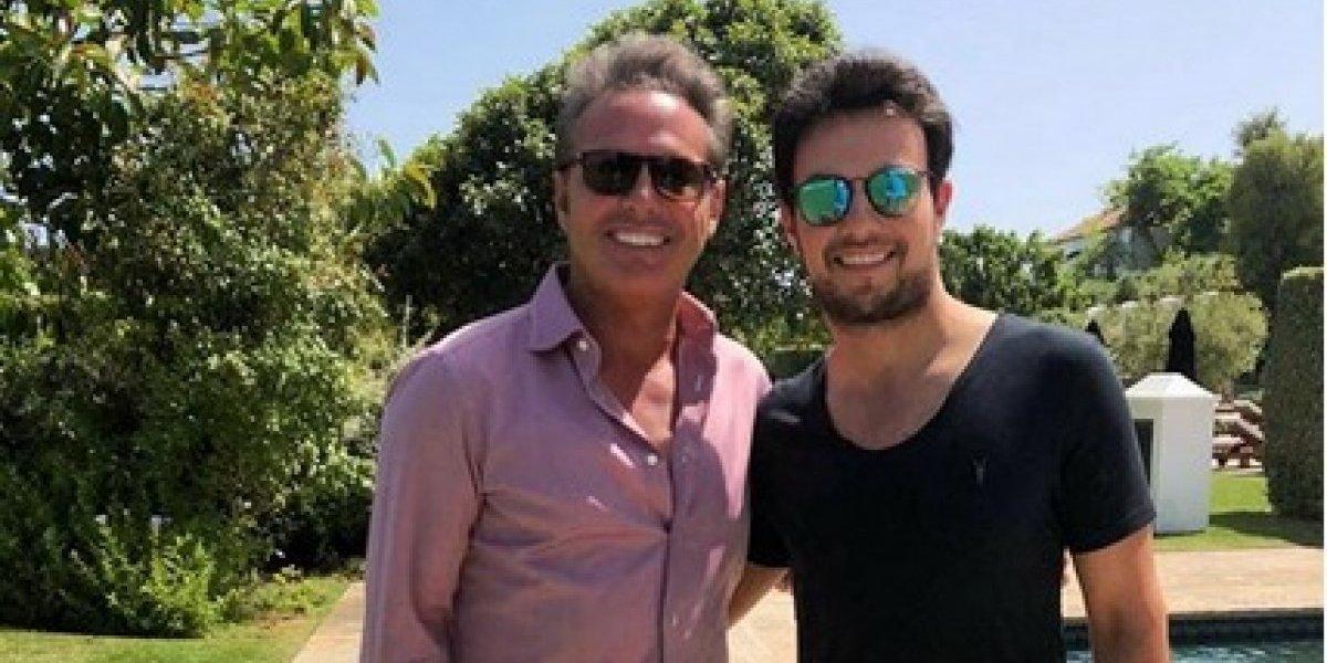 Luis Miguel y Checo Pérez se encuentran en Madrid