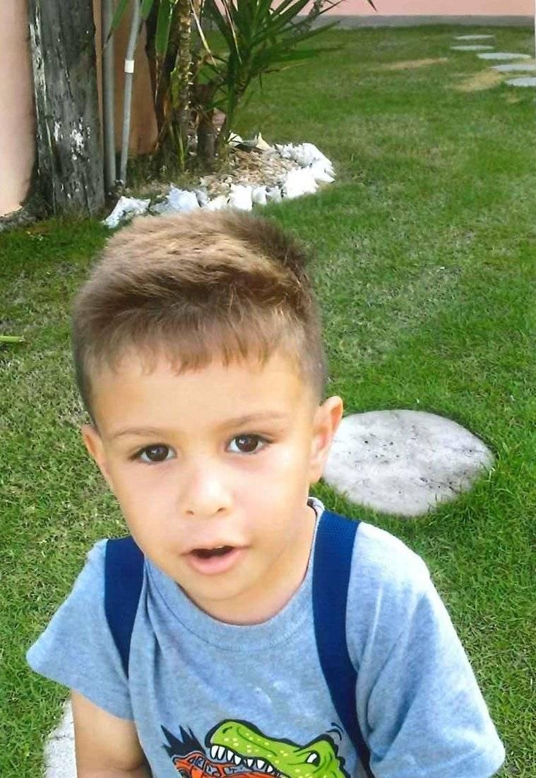 Menor de 4 años desaparecido junto a su madre en Dorado. Foto: suministrada