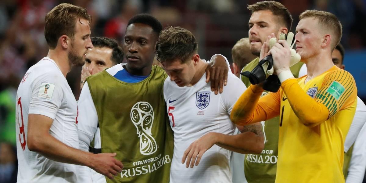 Copa do Mundo: Veja as caretas dos jogadores ingleses diante da derrota
