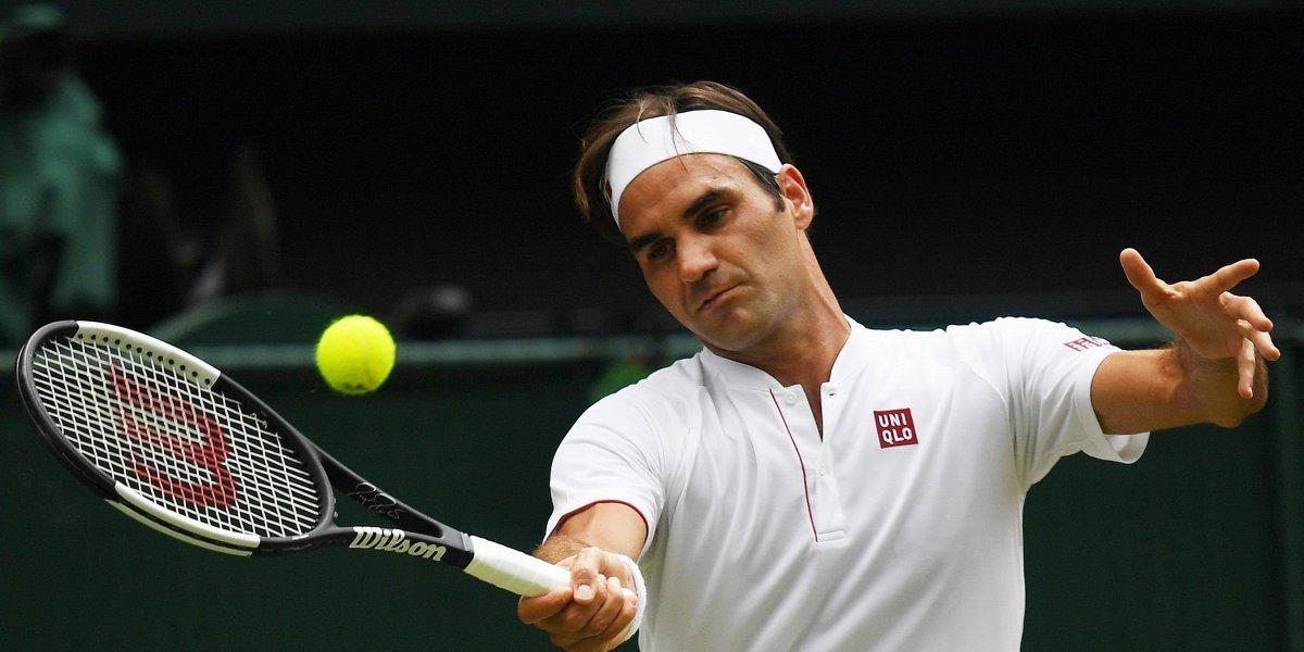 Wimbledon: Federer enfrenta a Anderson buscando los cuartos de final