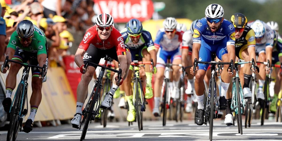 Clasificación de la etapa 5 del Tour de Francia 2018