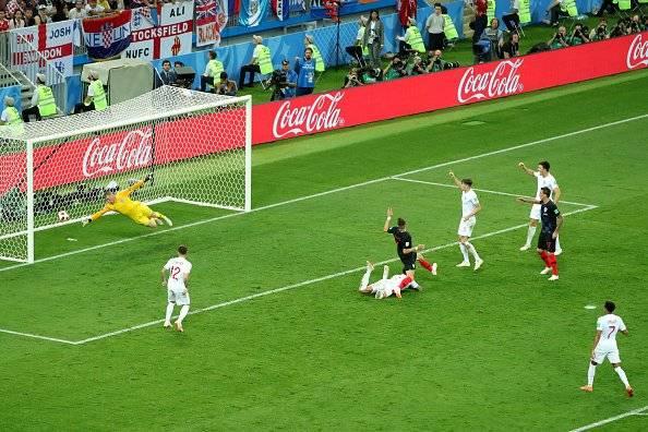 Croacia vs Inglaterra: Getty Images