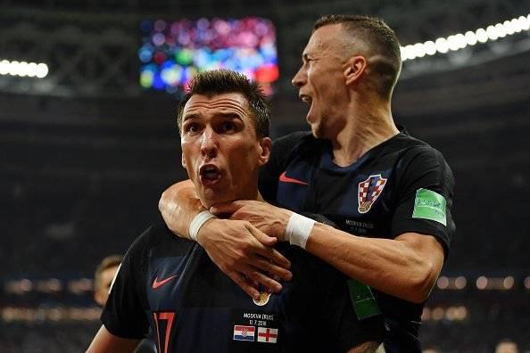 Croacia vs Inglaterra: ¡Croacia es por primera vez finalista de un Mundial! Getty Images