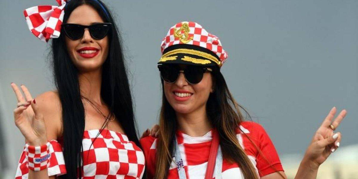Bellas aficionadas despiden las semifinales del Rusia 2018