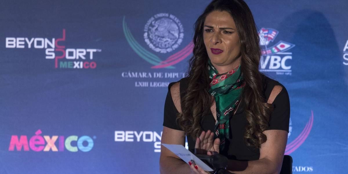 Ana Guevara reconoce estar lista para dirigir la Conade
