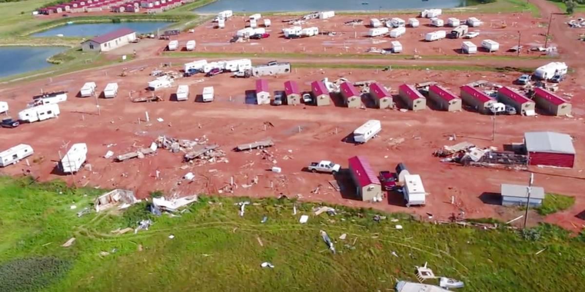 Tragedia: bebé recién nacido fallece tras devastador paso de tornado en Estados Unidos