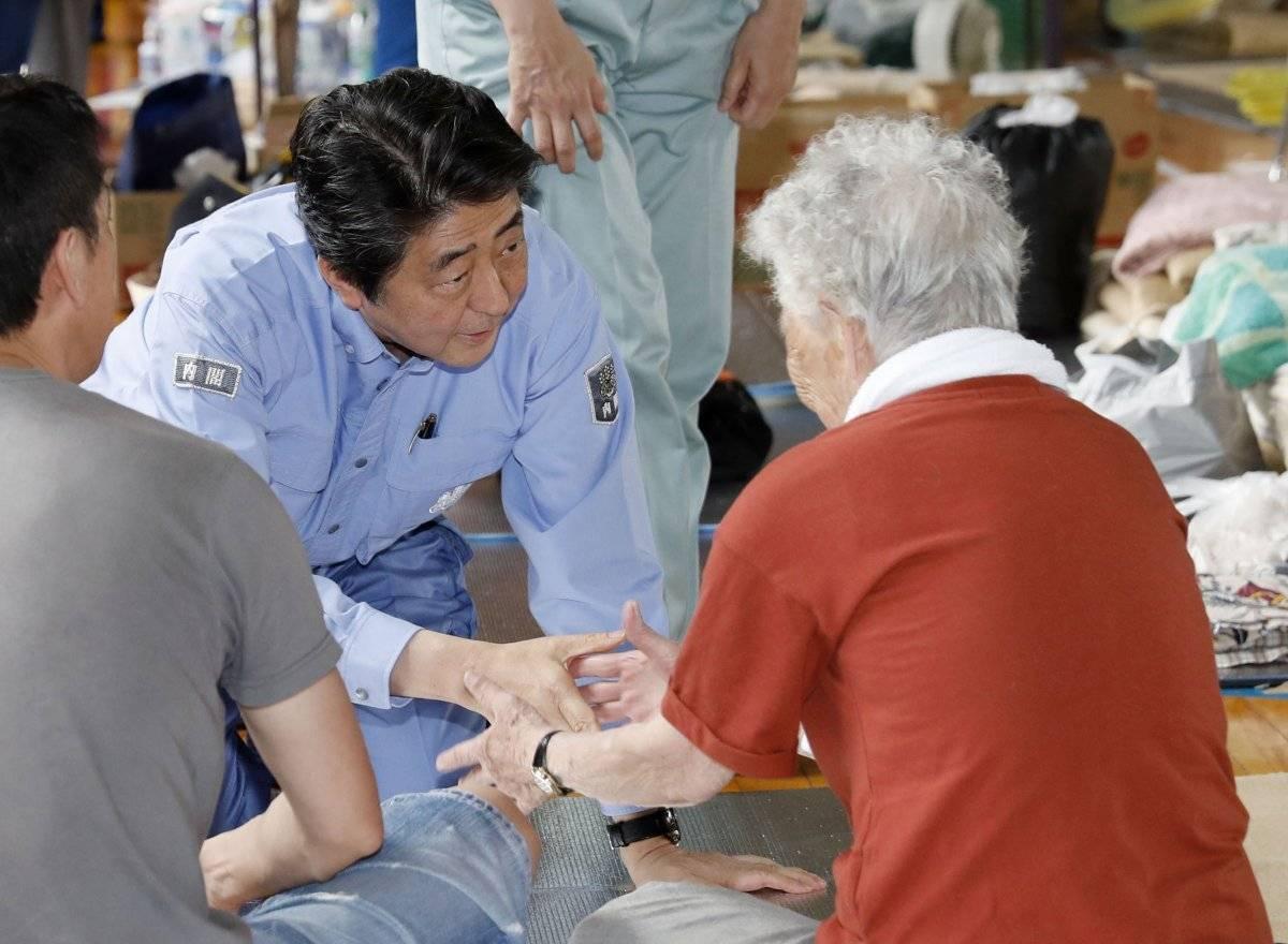 Shinzo Abe, primer ministro de Japón Foto: AP