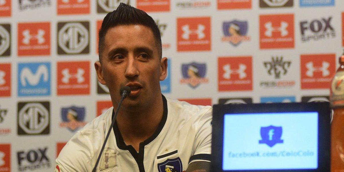 """Lucas Barrios prepara su regreso: """"Quiero jugar ese primer partido por todo lo que viví en Colo Colo"""""""