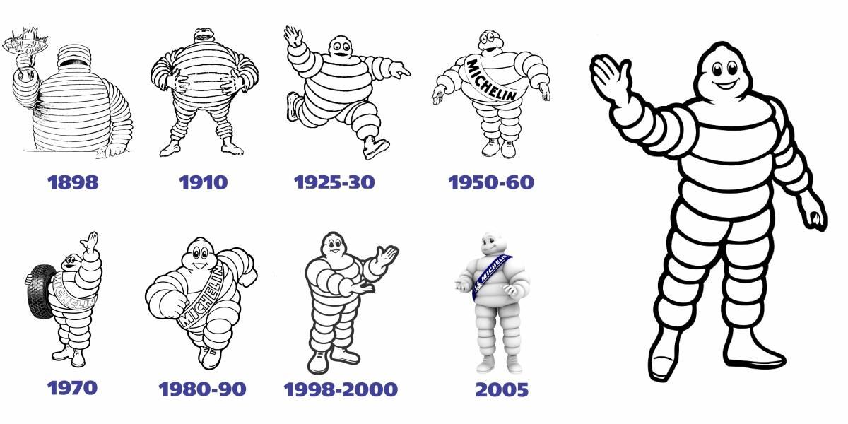 Bibendum, el ícono de Michelin, cumple 120 años