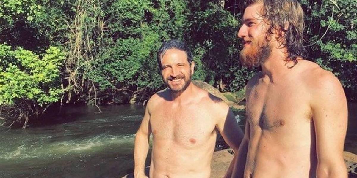Caco Ciocler ganha várias 'noras' ao postar foto com o filho