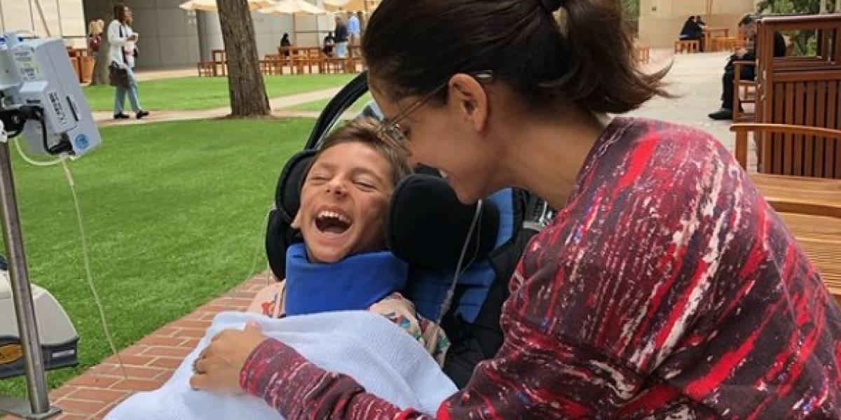 Leonor Varela hace llamado a orar por su hijo tras largo tratamiento
