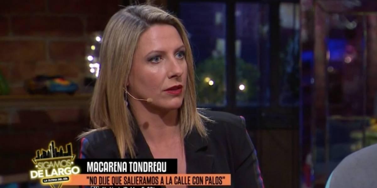 """Macarena Tondreau y su salida de TVN: """"Querían sacarme"""""""
