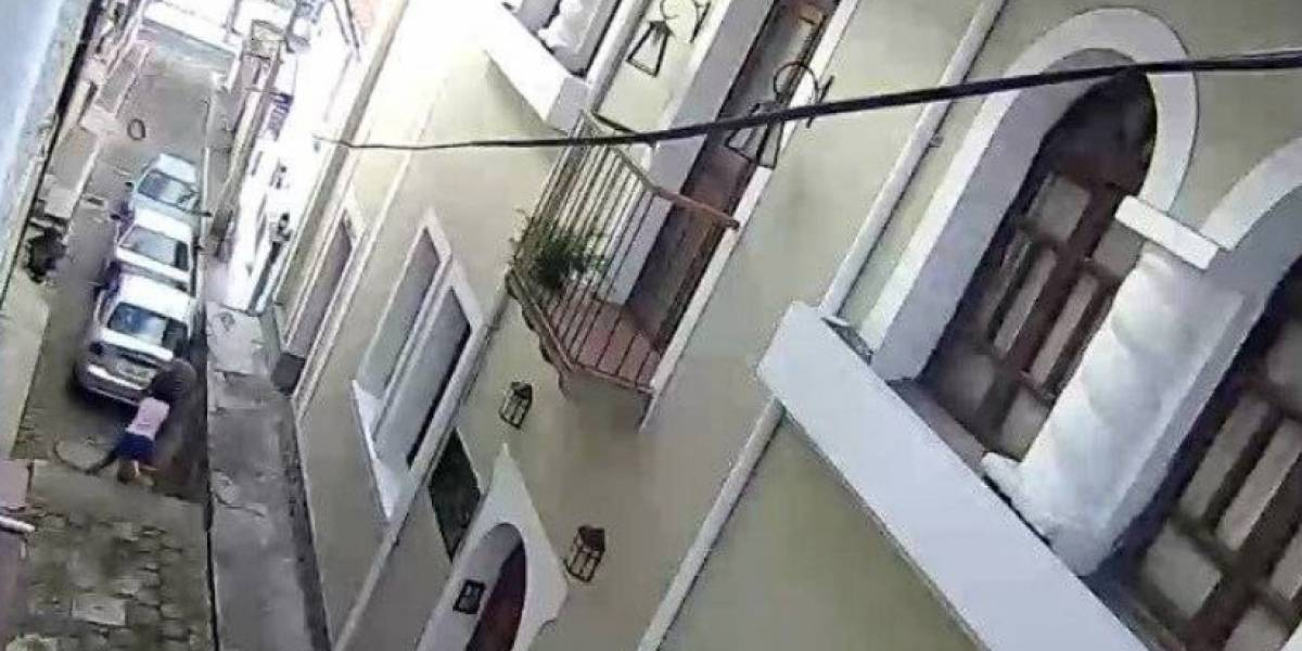 Capturaron al hombre que intentó secuestrar a una niña en la Basílica