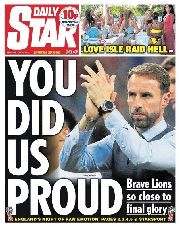 """""""Nos hicieron sentir orgullo"""""""