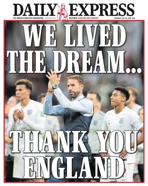 """""""Vivimos el sueño...Gracias Inglaterra"""""""